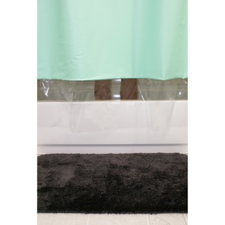 Green Shower Curtains - Overstock.com - Vibrant Fabric Bath Curtains