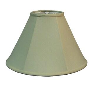 Khaki Fabric Bell Shade and Piping
