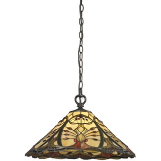 Z-Lite 1-light Iron Pendant