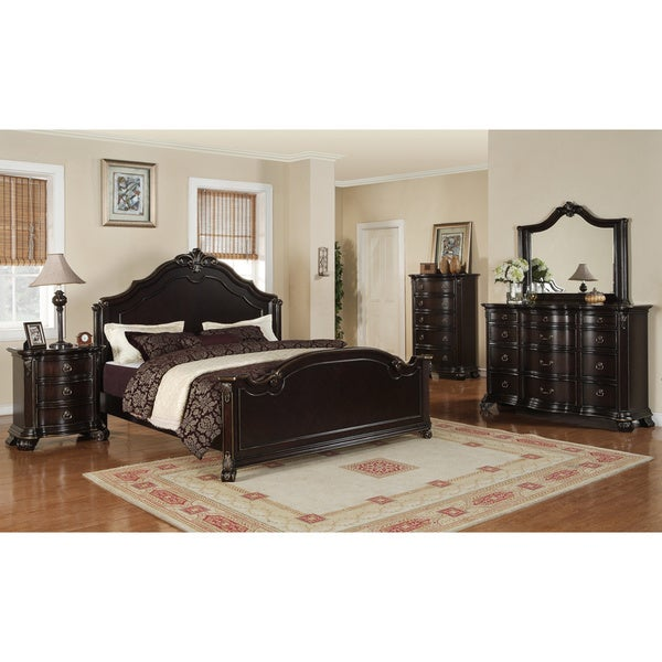 Picket House Jensen 5-piece Espresso Bedroom Set