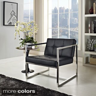 Hover Black Modern Reception Chair