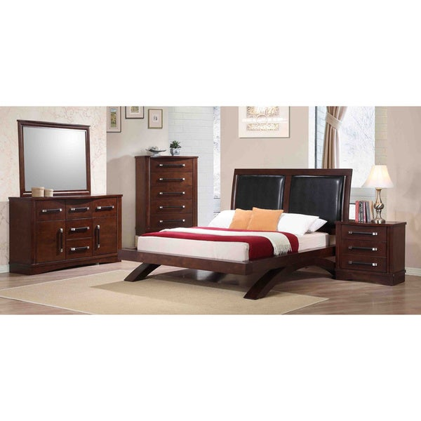 Picket House Padova 5-piece Brown Bedroom Set