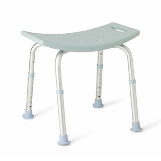 medline toolfree bath bench with microban protection