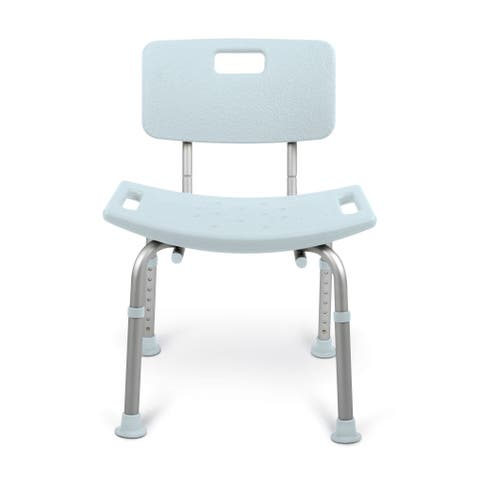 Medline Tool-Free Bath Seat with Microban Antimicrobial Protection