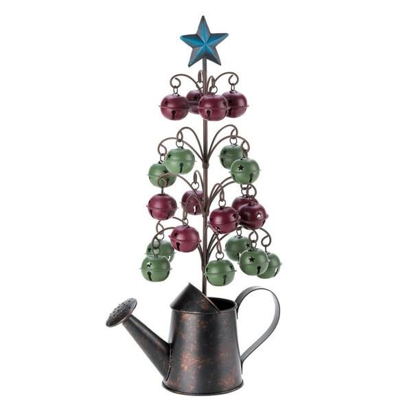 Watering Can Jingle Bell Tree