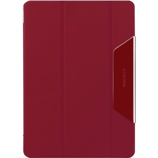 Macally Clear Case Carrying Case for iPad Air - Red