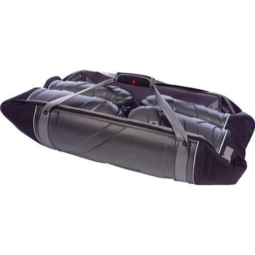 Athalon Molded Wheeling Double Ski Bag - 185cm Silver/Black - Thumbnail 2