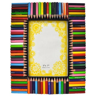 Colorful Pencil 5x7 Picture Frame