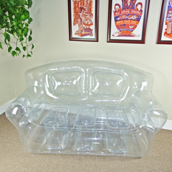 Inflatable Sofa Clear