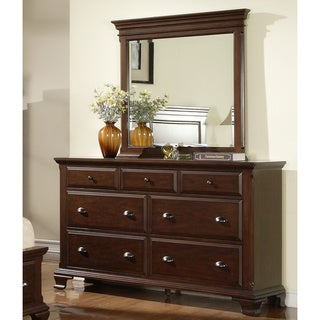 Picket House Furnishings Brinley Cherry Storage 5 Piece Bedroom Set  (Option: King)