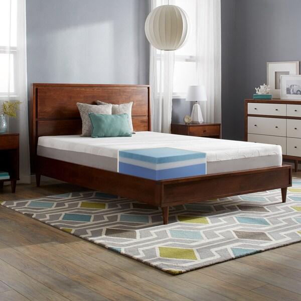 Slumber Solutions Choose Your Comfort 10-inch Queen-size Gel Memory Foam Mattress