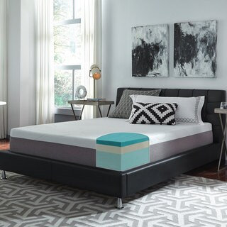 Slumber Solutions Choose Your Comfort 12-inch Full-size Gel Memory Foam Mattress