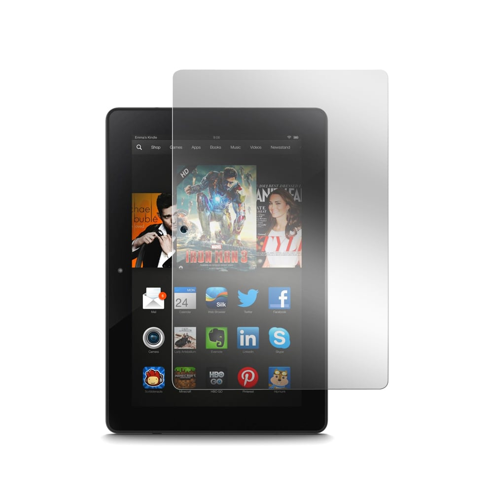 Gearonic Clear LCD Screen Protector for New 2013 Kindle F...
