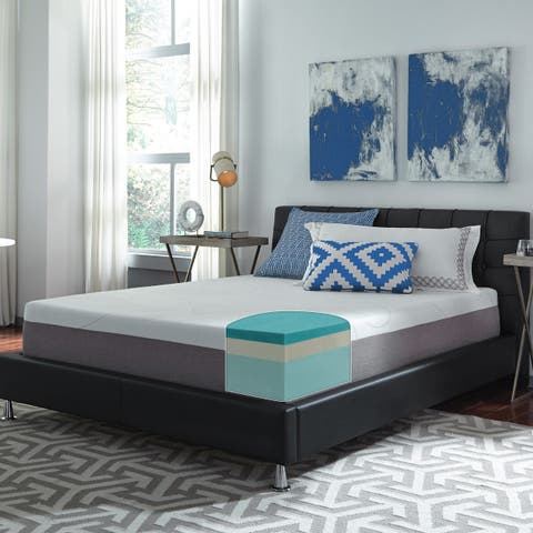 Slumber Solutions Choose Your Comfort 12 Inch Gel Memory Foam Mattress