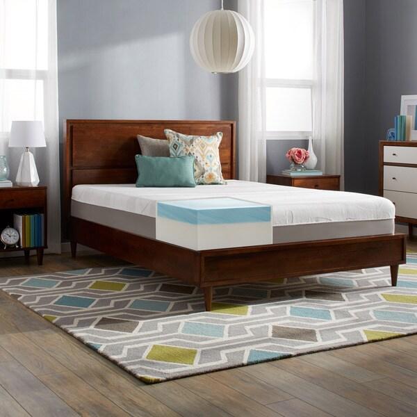 Slumber Solutions Choose Your Comfort 12-inch Queen-size Gel Memory Foam Mattress