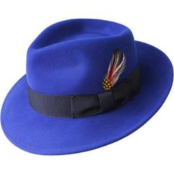Men's Bailey of Hollywood Fedora 7002 Cobalt