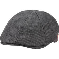 Men's Ben Sherman Straw Driving Cap Black
