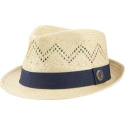 Men's Ben Sherman Vented Straw Trilby Natural