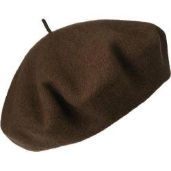 Women's Betmar French Beret Chocolate - Thumbnail 0