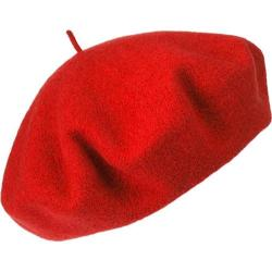 Women's Betmar French Beret Red