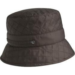 Women's Betmar Quilted Bucket B745 Chocolate