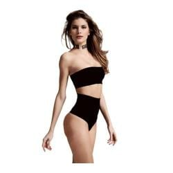 Women's Cass Luxury Shapewear Black Contour Thong