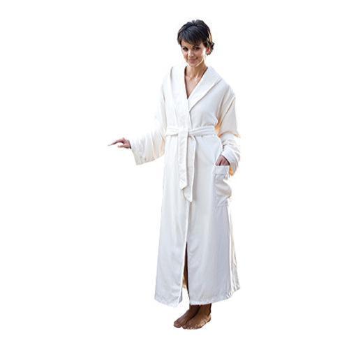 Chadsworth & Haig Microplush Hooded Robe White