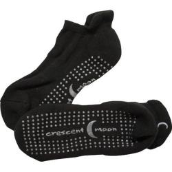 Women's Crescent Moon Yoga ExerSock (3 Pairs) Black/Grey