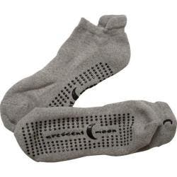 Women's Crescent Moon Yoga ExerSock (3 Pairs) Grey/Black|https://ak1.ostkcdn.com/images/products/86/149/P16877977.jpg?impolicy=medium