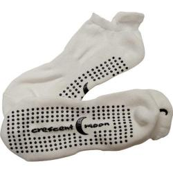 Women's Crescent Moon Yoga ExerSock (3 Pairs) White/Black