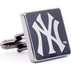 Men's Cufflinks Inc Black Series New York Yankees Cufflinks Black