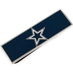 Men's Cufflinks Inc Dallas Cowboys Money Clip Blue/Silver