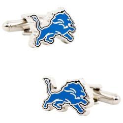 Men's Cufflinks Inc Detroit Lions Cufflinks Blue