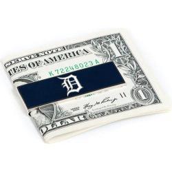 Men's Cufflinks Inc Detroit Tigers Money Clip Blue/White