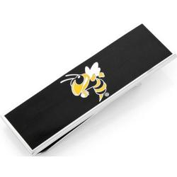 Men's Cufflinks Inc Georgia Tech Yellow Jackets Money Clip Black/Yellow
