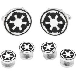 Men's Cufflinks Inc Imperial Empire Symbol Stud Set Black