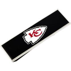 Men's Cufflinks Inc Kansas City Chiefs Money Clip Red
