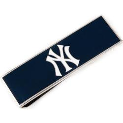 Men's Cufflinks Inc New York Yankees Money Clip Blue