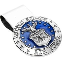 Men's Cufflinks Inc Pewter U.S. Airforce Money Clip Pewter