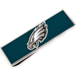 Men's Cufflinks Inc Philadelphia Eagles Money Clip Green/Silver