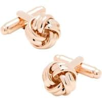 Men's Cufflinks Inc Rose Knot Cufflinks Rose Gold