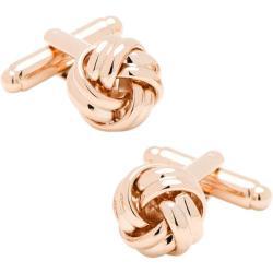 Men's Cufflinks Inc Rose Knot Cufflinks Rose Gold