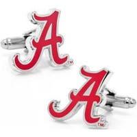 Men's Cufflinks Inc University of Alabama Crimson Tide Cufflinks Maroon