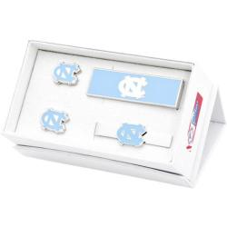 Men's Cufflinks Inc University of North Carolina 3-Piece Gift Set Blue