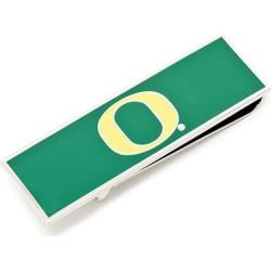 Men's Cufflinks Inc University of Oregon Ducks Money Clip Green/Yellow