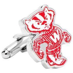Men's Cufflinks Inc Vintage University of Wisconsin Badgers Cufflinks Multi