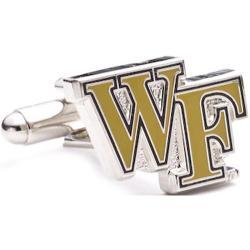 Men's Cufflinks Inc Wake Forest Demon Deacons Gold