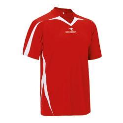 Men's Diadora Rigore Jersey Red (3 options available)