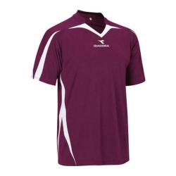 Boys' Diadora Rigore Jersey Maroon (3 options available)