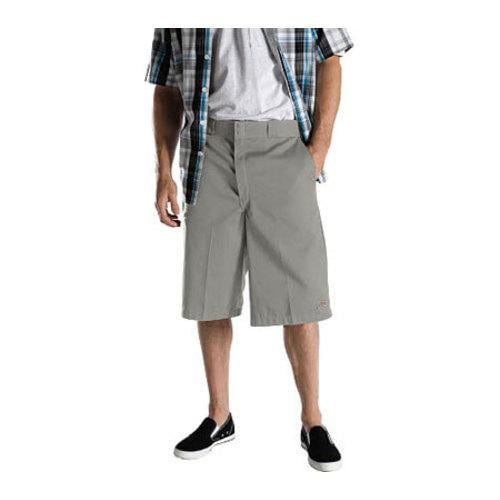 3bf12542b3 Shop Men's Dickies 13in Loose Fit Twill Stripe Multi-Pocket Work Short  Silver Grey - On Sale - Free Shipping On Orders Over $45 - Overstock -  9701378
